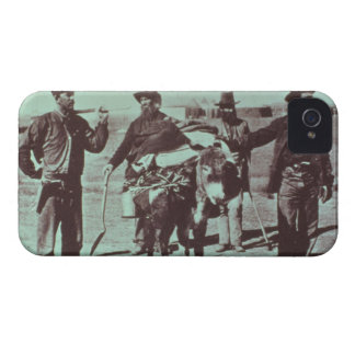 North American gold diggers, c.1849 (b/w photo) iPhone 4 Case-Mate Cases