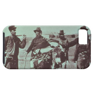 North American gold diggers, c.1849 (b/w photo) iPhone SE/5/5s Case
