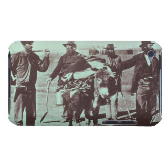 North American gold diggers, c.1849 (b/w photo) iPod Touch Cover