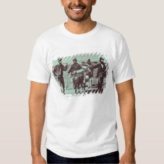 North American gold diggers, c.1849 (b/w photo) T-Shirt