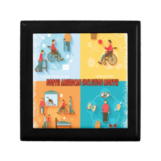 North American Inclusion Month - Appreciation Day Jewelry Box