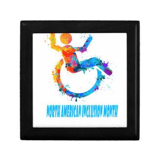 North American Inclusion Month - Appreciation Day Keepsake Box