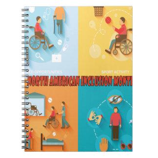 North American Inclusion Month - Appreciation Day Notebook