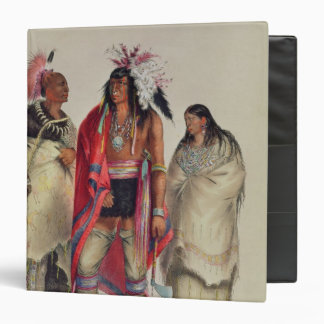 North American Indians, c.1832 3 Ring Binders