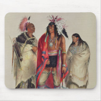 North American Indians, c.1832 Mouse Pad