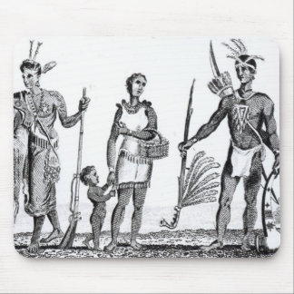 North American Indians Mouse Pad