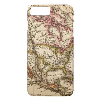 North American Map 2 iPhone 8 Plus/7 Plus Case