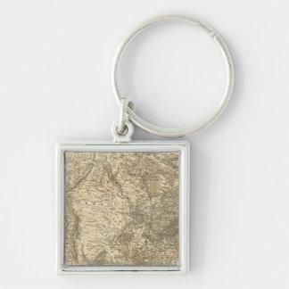 North American Map Keychain