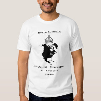 North American Monarchist Conference 2012 Tee Shirt
