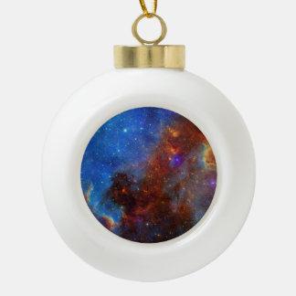 North American Nebula continent NASA Ceramic Ball Christmas Ornament