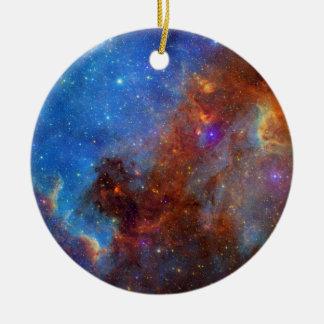 North American Nebula continent NASA Ceramic Ornament