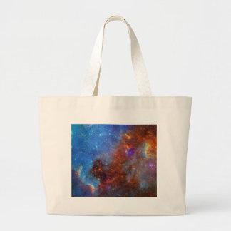 North American Nebula continent NASA Large Tote Bag