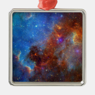 North American Nebula continent NASA Metal Ornament