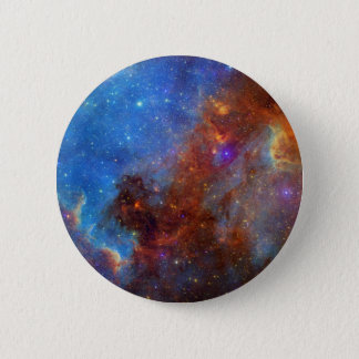North American Nebula continent NASA Pinback Button