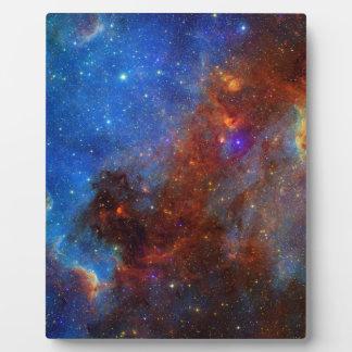 North American Nebula continent NASA Plaque