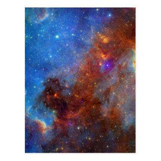 North American Nebula continent NASA Postcard