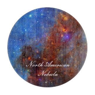 North American Nebula Cutting Boards