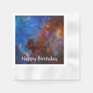 North American Nebula Paper Napkin