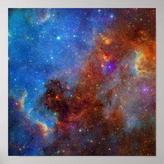 North American Nebula Posters