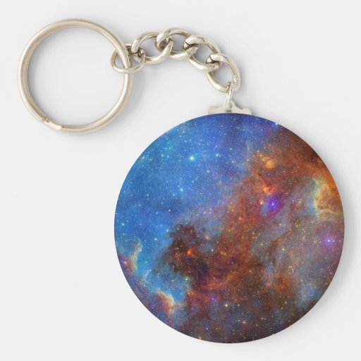 North American Nebulae of ancient stars Key Chain
