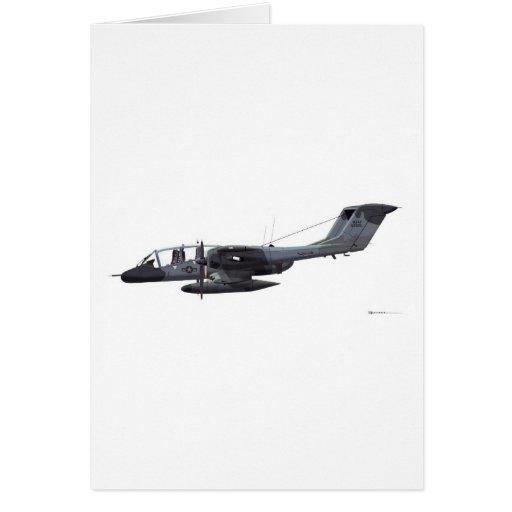 North American OV-10A Bronco Greeting Cards