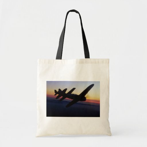 """North American P-1 """"Mustang"""" and Republic P-47 """"Th Tote Bags"""