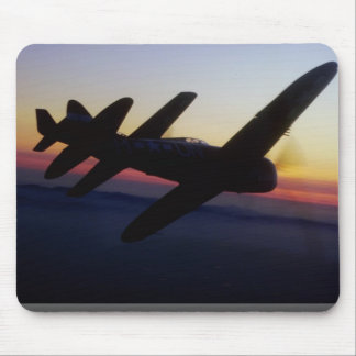 """North American P-1 """"Mustang"""" and Republic P-47 """"Th Mousepad"""