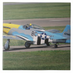 North American P-51 D Dazzling Donna on the Ceramic Tile