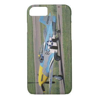 North American P-51 D Dazzling Donna on the iPhone 7 Case