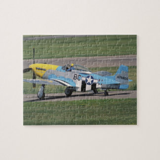 North American P-51 D Dazzling Donna on the Jigsaw Puzzle