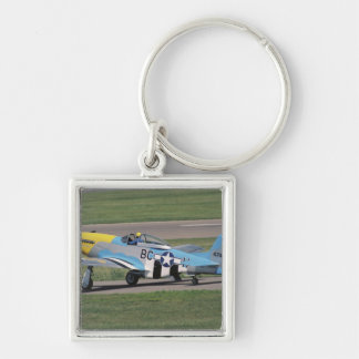North American P-51 D Dazzling Donna on the Keychain