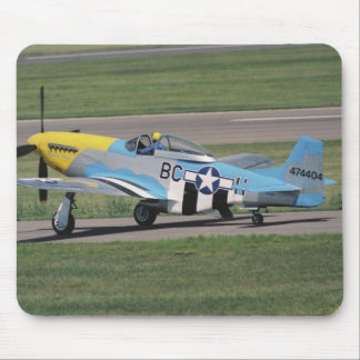 North American P-51 D Dazzling Donna on the Mouse Pad