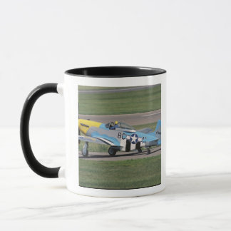 North American P-51 D Dazzling Donna on the Mug