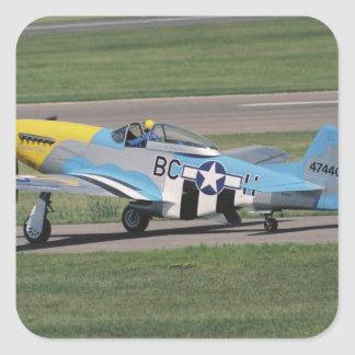 North American P-51 D Dazzling Donna on the Sticker
