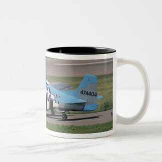 North American P-51 D Dazzling Donna on the Two-Tone Coffee Mug