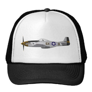 """North American P-51D Mustang """"Double Trouble Two"""" Mesh Hat"""