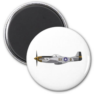 "North American P-51D Mustang ""Double Trouble Two"" Magnet"