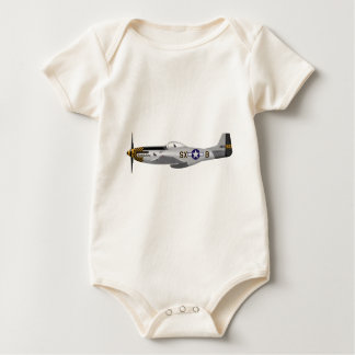 "North American P-51D Mustang ""Double Trouble Two"" Romper"
