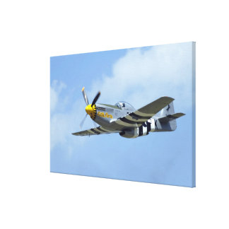 North American P-51D Mustang, Little Horse Canvas Print
