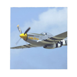 North American P-51D Mustang, Little Horse Note Pad
