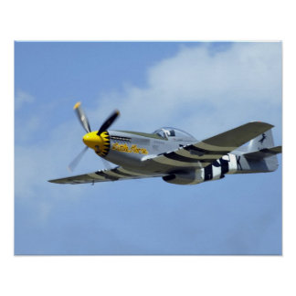 North American P-51D Mustang, Little Horse Poster
