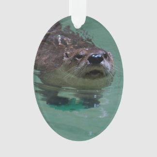 North American River Otter Ornament