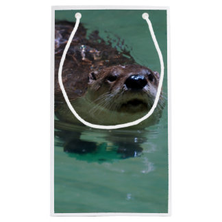 North American River Otter Small Gift Bag