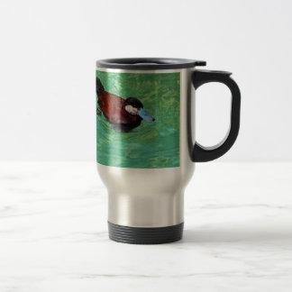 North American Ruddy Duck III Travel Mug