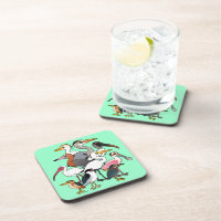 North American Waders Beverage Coaster