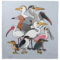 North American Waders Cloth Napkins (set of 4) dinner 20