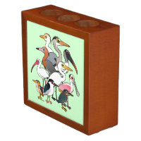 North American Waders Desk Organizer