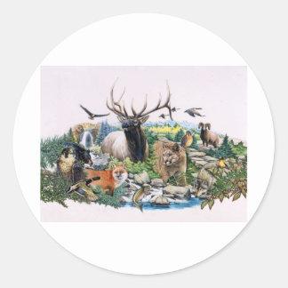 North American Wildlife Stickers
