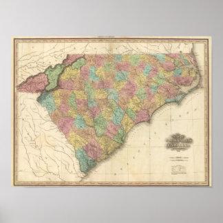North and South Carolina 2 Print