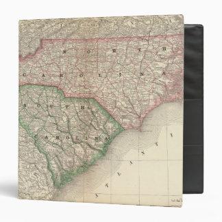 North and South Carolina 3 3 Ring Binder